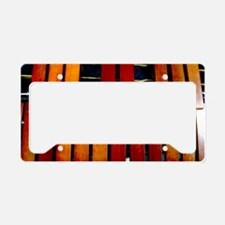Marimba License Plate Holder