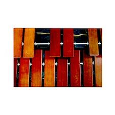 Marimba Rectangle Magnet