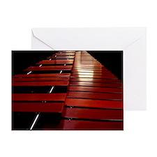 Marimba Greeting Card