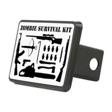 Zombie Survival Kit Hitch Cover