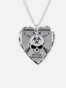 Zombie Response Team Denver Necklace