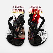 Talk Like A Pirate Trans Flip Flops