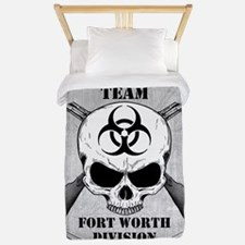 Zombie Response Team Fort Worth Twin Duvet
