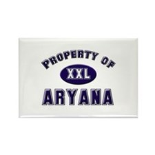 Property of aryana Rectangle Magnet