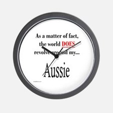 Aussie World Wall Clock