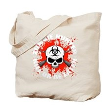 Zombie Hunter 1 white Tote Bag
