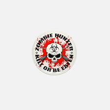 Zombie Hunter 1 Mini Button