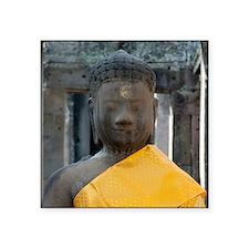 """Cal2_Buddha_Buddhism_Calend Square Sticker 3"""" x 3"""""""