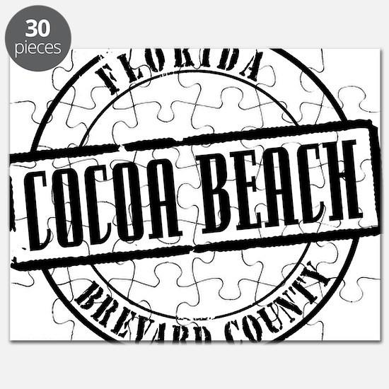 Cocoa Beach Title W Puzzle