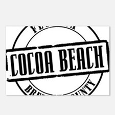 Cocoa Beach Title W Postcards (Package of 8)