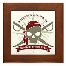 A_Pirates_Life Framed Tile