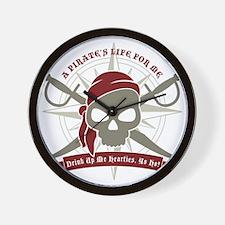 A_Pirates_Life Wall Clock