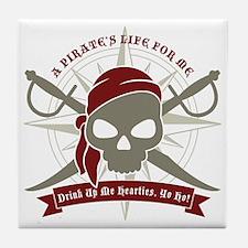 A_Pirates_Life Tile Coaster