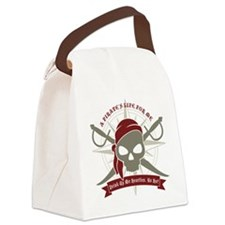 A_Pirates_Life Canvas Lunch Bag