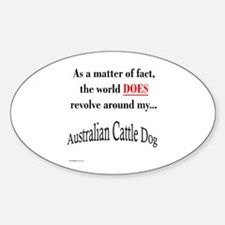 ACD World Oval Decal