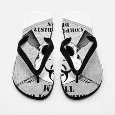 Zombie Response Team Corpus Christi Flip Flops