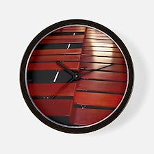 Marimba Wall Clock