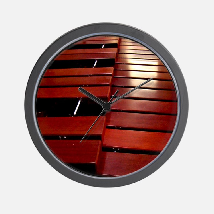 Marimba Wall Clock