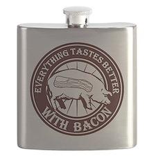 Pig Black Leg Black Burst- Brown Flask