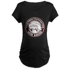 Pig Black Leg Black Burst-  T-Shirt