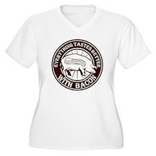 Pig Black Leg Bla T-Shirt