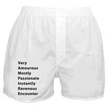 vampire_black Boxer Shorts