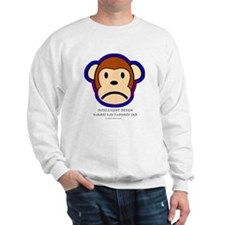 Intelligent design is a biohazard Sweatshirt