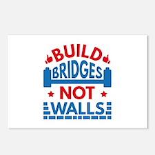 Build Bridges Not Walls Postcards (Package of 8)