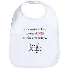 Beagle World Bib
