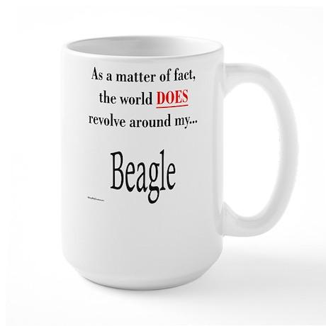 Beagle World Large Mug