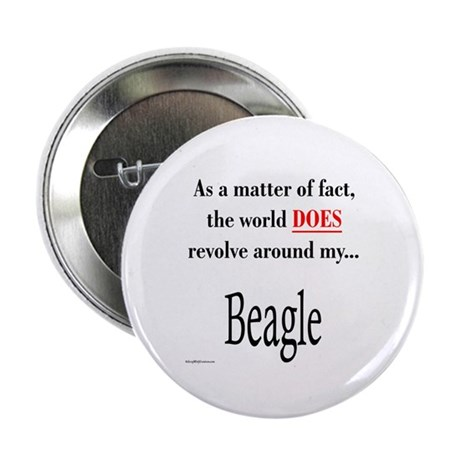 Beagle World Button