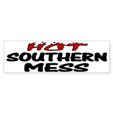 Hot Southern Mess Car Sticker