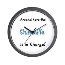 Chin In Charge Wall Clock