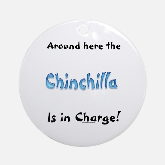Chin In Charge Ornament (Round)