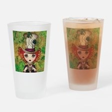Lady Hatter Drinking Glass