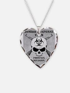 Zombie Response Team Phoenix Necklace