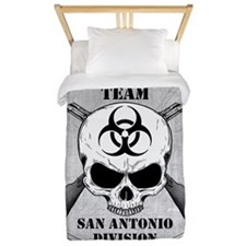 Zombie Response Team San Antonio Twin Duvet