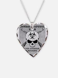 Zombie Response Team San Anto Necklace