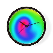 FF-Rainbow-R-Twirl Wall Clock