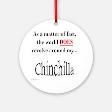 Chinchilla World Ornament (Round)