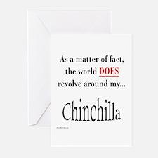 Chinchilla World Greeting Cards (Pk of 10)