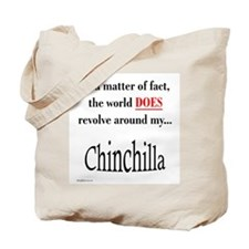 Chinchilla World Tote Bag