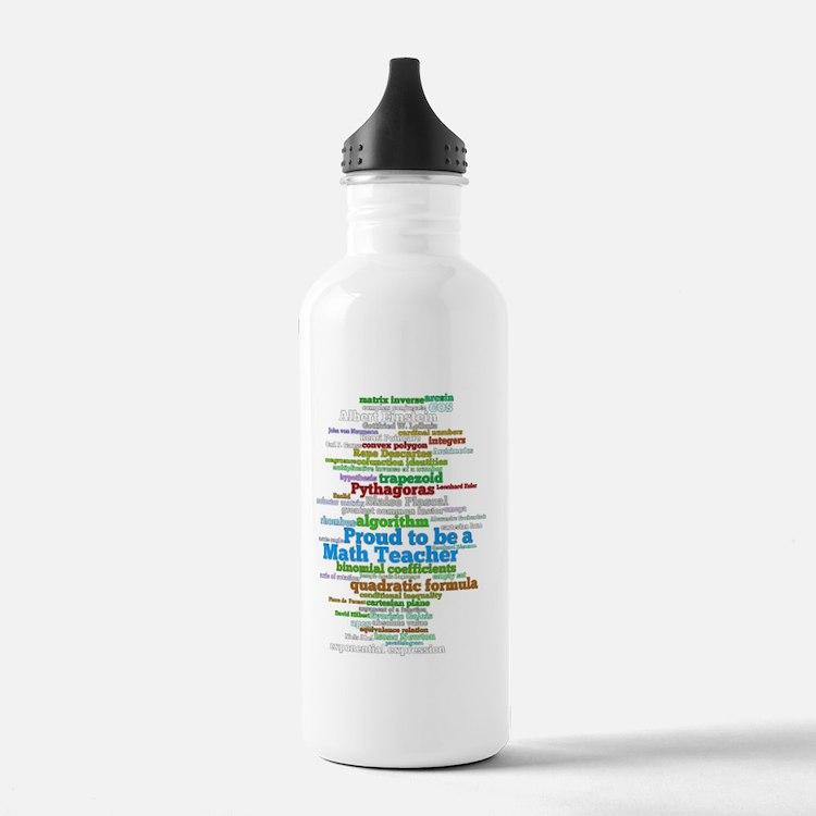 VertBlackMath3.gif Sports Water Bottle