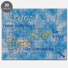 Learn Live Hope Note Card Puzzle