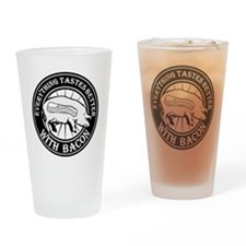Pig Black Leg Black Burst- Black Drinking Glass