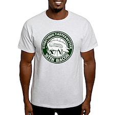 Pig Black Leg Black Burst- Green T-Shirt