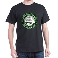 Pig Black Leg Black Burst- Green T-Shirt