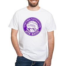 Pig Black Leg Black Burst- Purple Shirt