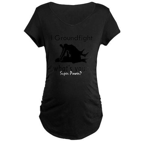 groundfight Maternity Dark T-Shirt