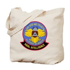 US NAVAL INTELLIGENCE Military Patch IN C Tote Bag